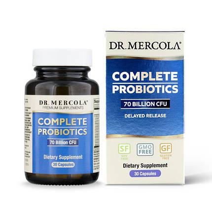 Пробиотики Dr. Mercola комплекс для расщепления лактозы 60 капсул (768), фото 2