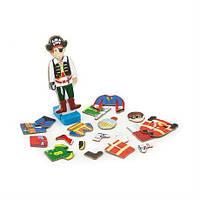 Набор магнитов Viga Toys Гардероб мальчика (50021)
