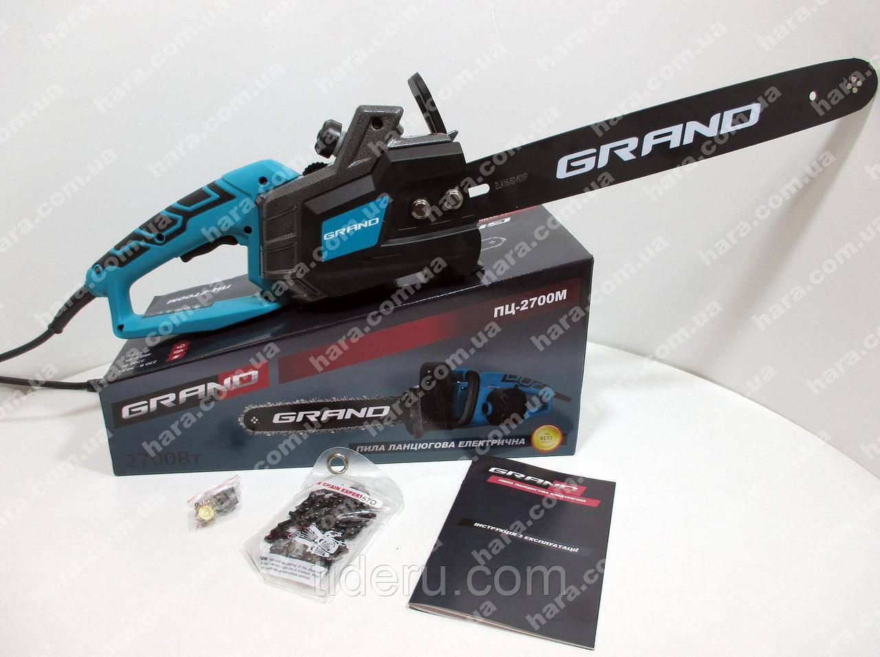Електропила GRAND ПЦ-2700М 2.7 Квт, бічна
