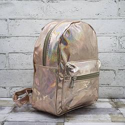 Рюкзак детский Цвет Золотой 30*22*20