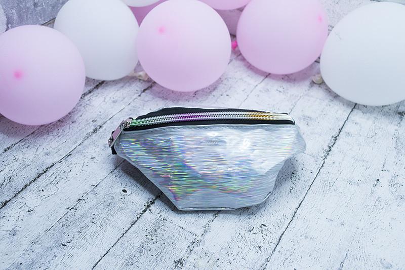 "Детская сумка на пояс""hologram "" (12 шт разных цветов)"