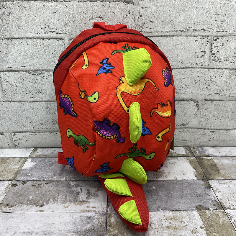Рюкзак динозаврик - помаранчевий