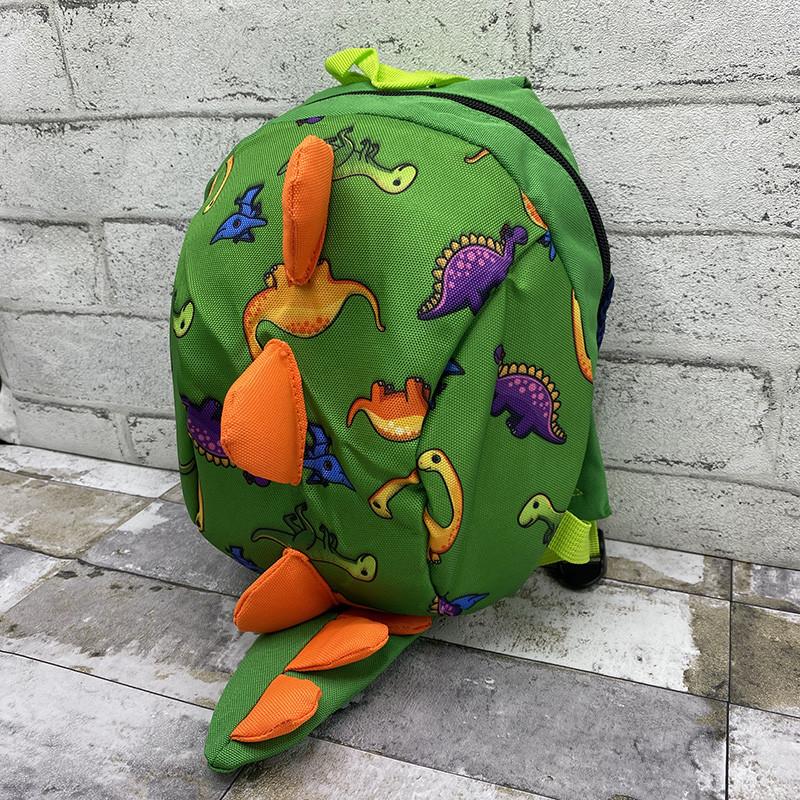 Рюкзак динозаврик - зелений