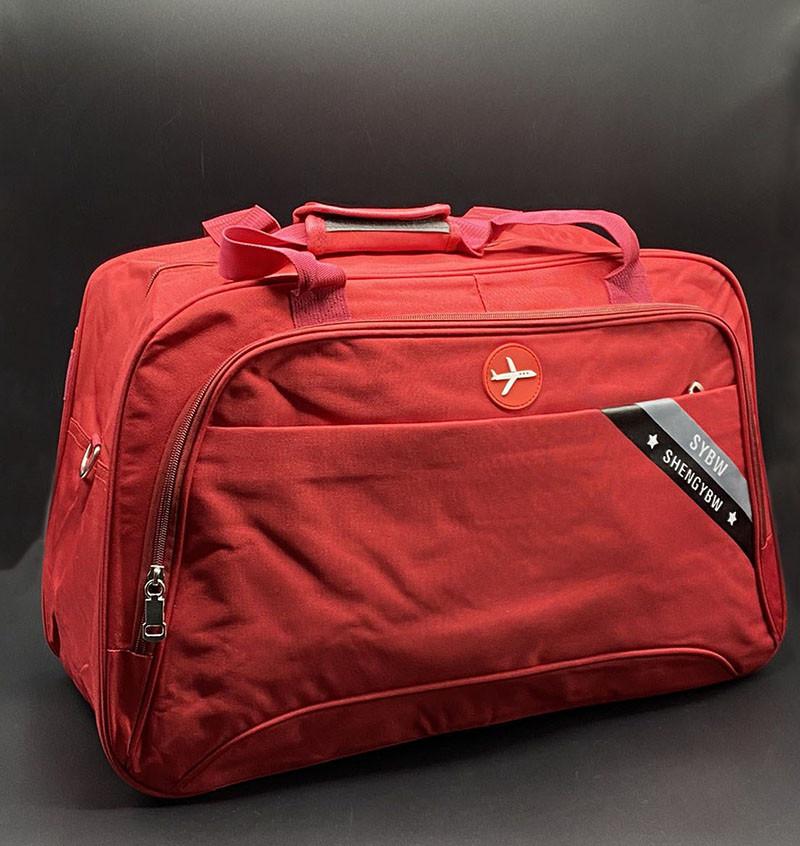 """Дорожня сумка """"SYBW""""Колір: Червоний"""