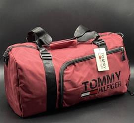 """Дорожно спортивная сумка """"Tommy"""" Цвет: Крансый"""