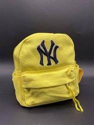 """Детский рюкзак """"NY"""" Цвет: Желтый"""