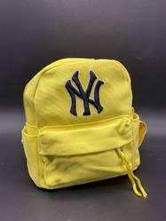 """Дитячий рюкзак """"NY"""" Колір: Жовтий"""