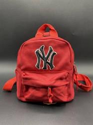 """Детский рюкзак """"NY"""" Цвет: Красный"""