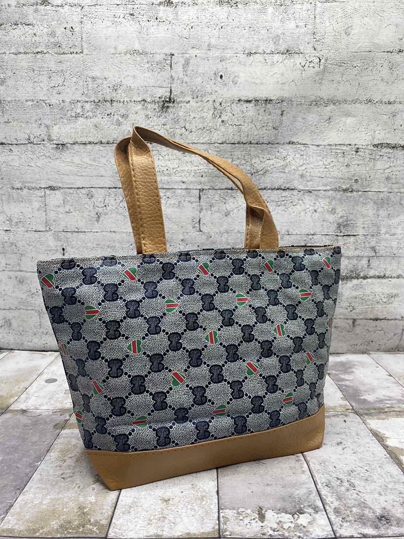 """Стильная детская сумка """"Louis Vuitton """" Серый"""