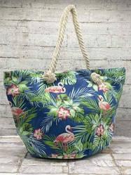 "Пляжная сумка ""Tropical flamingo"""