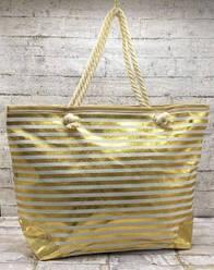 Летняя сумочка в полоску.