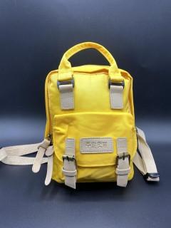 Вместительный детский рюкзачёк . Цвет: Желтый