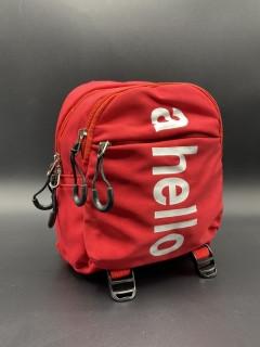 """Детский спортивный рюкзак """"A Hello""""Цвет: Красный"""