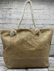 Летняя сумка с люрексовой нитью ( серебро)