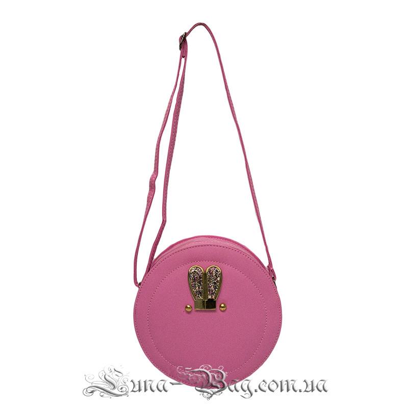 Жіноча сумка кругла 3 Кольори Рожевий