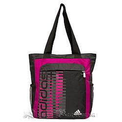 Сумка спортивная Adidas, Цвет Малиновый (Размер 34х28х8 см)