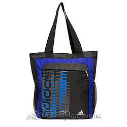 Сумка спортивная Adidas, Цвет Синий (Размер 34х28х8 см)