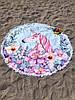 Пляжне покривало з яскравим принтом Unicorn, фото 2