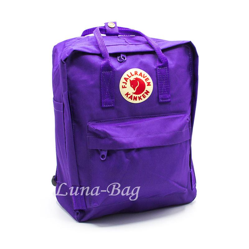 """Рюкзак """"KÅNKEN"""" 10 Кольорів Фіолетовий( Розмір: 37*28*12)"""