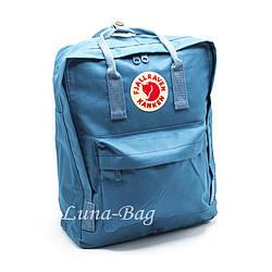 """Рюкзак """"KÅNKEN"""" 10 Кольорів Блакитний( Розмір: 37*28*12)"""