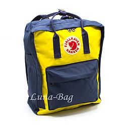 """Рюкзак """"KÅNKEN"""" 5 Кольору Синій-Жовтий ( Розмір: 37*28*12)"""