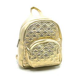 Сияющий детский рюкзак 3 Цвета Золото