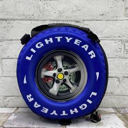 Зд сумки колесо 3 кольори - синій