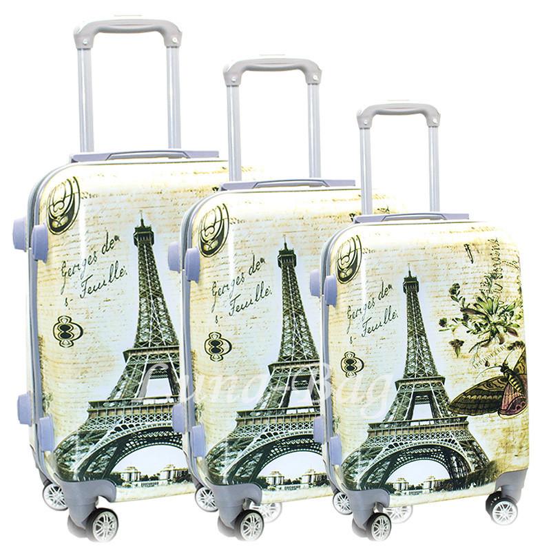 Набір з трьох валіз Розміри (20,24,28)