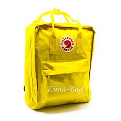 """Рюкзак """"KÅNKEN"""" 10 Кольорів Жовтий. ( Розмір: 37*28*12)"""