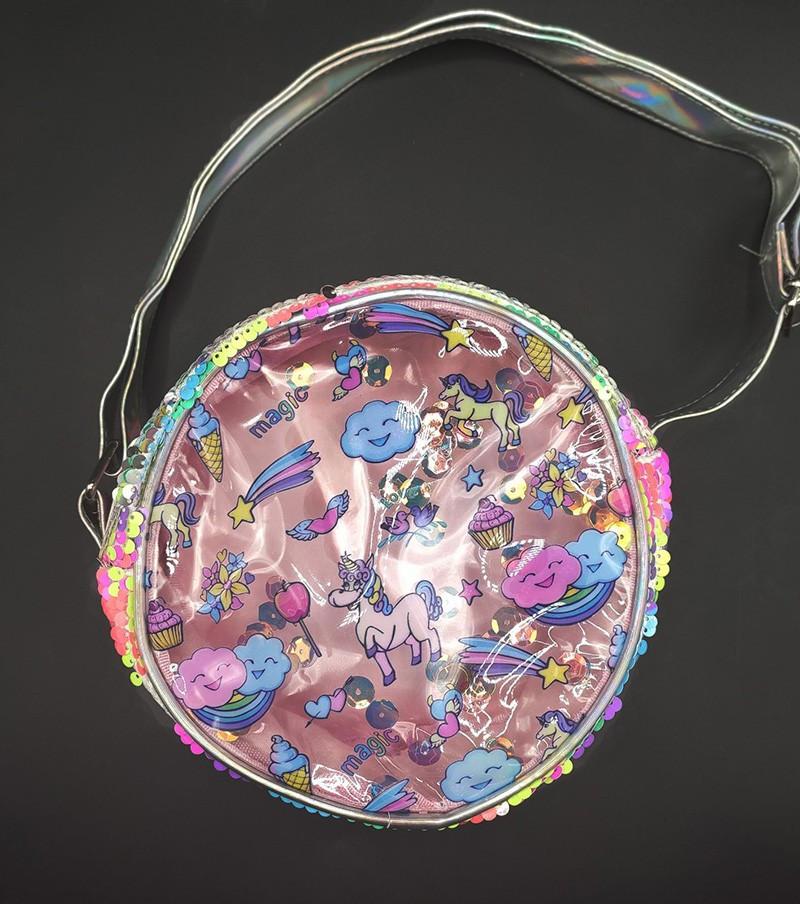 Прозора дитяча сумка - єдиноріг