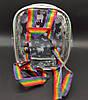 Детский прозрачный рюкзак - единорог, фото 2