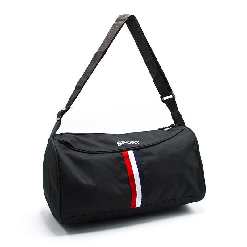Дорожная сумка  4 Цвета Черный (Размер 21*38*19)