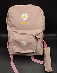 Рюкзак 3 в 1 (6 цветов ) розовый