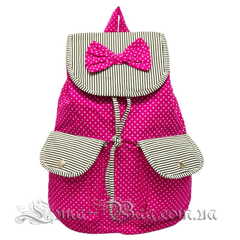 Дитячий пляжний рюкзак з (Метеликом) 2 Кольори Рожевий (39x38x13 cm.)