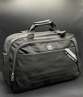 """Дорожня сумка """"SYBW""""Колір: Чорний"""