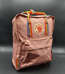 """Рюкзак """"KÅNKEN"""" с радужными ручками. Пудра"""