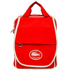 Стильна сумка-рюкзак Lacoste Кольори Червоний
