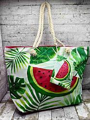 Летняя сумка с красочным рисунком