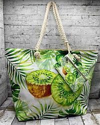 Літня сумка з барвистим малюнком