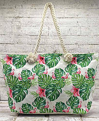 """Барвиста пляжна сумка """"Tropical History"""""""