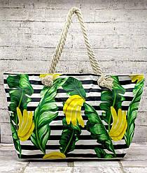Красочная пляжная сумка