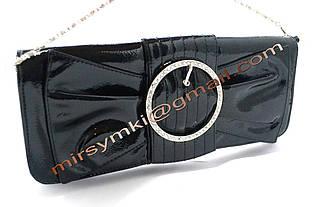 Клатч женский hermes butterfly black (Размер 33x16x1 ручка 1метр 30)