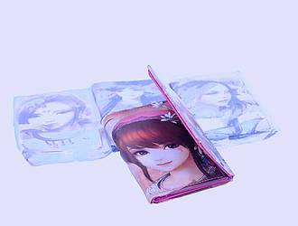 Гаманець girls (Розмір 10x8x1 (В упаковці 12 шт)