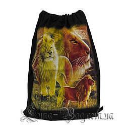 Сумка для обуви лев (Размер 50*32)(В упаковке 6 шт)