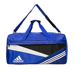Сумка спортивная Adidas 3 Цвета Голубой(Размер : 26х50х30 см)