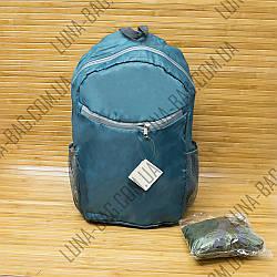 Рюкзак складной для покупок 3 Цвета Морская волна.
