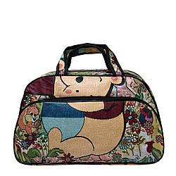 """Жіноча дорожня сумка """"Bear"""" 3 Кольори Зелений,( Розмір S 43х26х14 см)"""