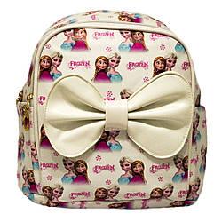 """Дитячий рюкзак """"FROZEN"""" 2 Кольори Білий(Розмір 22x21x11 див.)"""