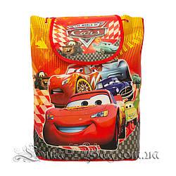Дитячий рюкзак з малюнком (ТАЧКИ) 5 Кольорів Червоний (35x32x12 див.)В упаковці 12 шт