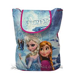 Детский рюкзак с рисунком (FROZEN) 5 Цветов Розовый (35x32x12 см.)В упаковке 12 шт